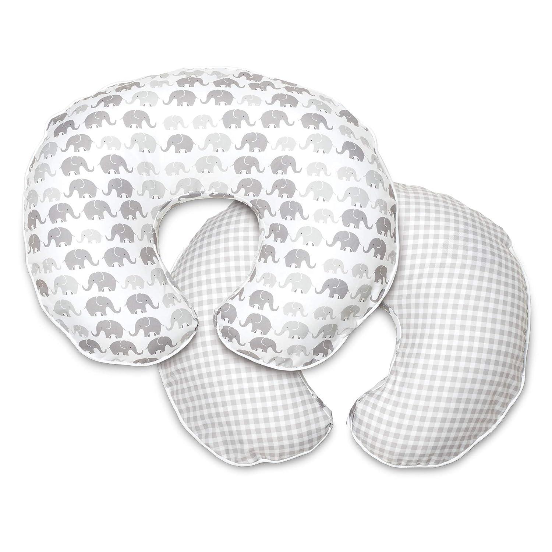 FEIlei Nursing U-Shaped Pillow Slipcover Baby Breastfeeding Pillow Cover for Infants-Dark Gray Pillowcase
