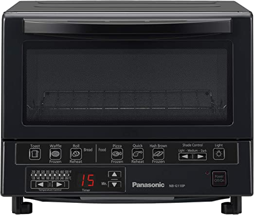 Amazon.com: Panasonic Flash Xpress - Tostadora, Negro ...