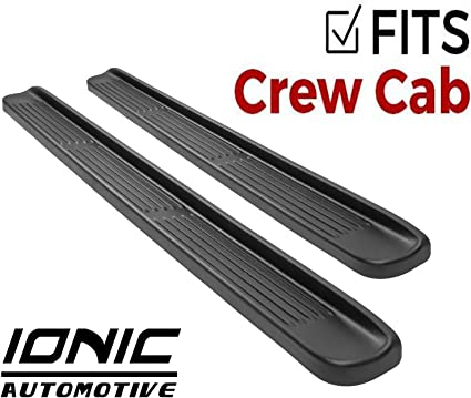 BOTH SIDES NEW OEM NISSAN FRONTIER 2005-2017 CREW CAB STEP RAILS