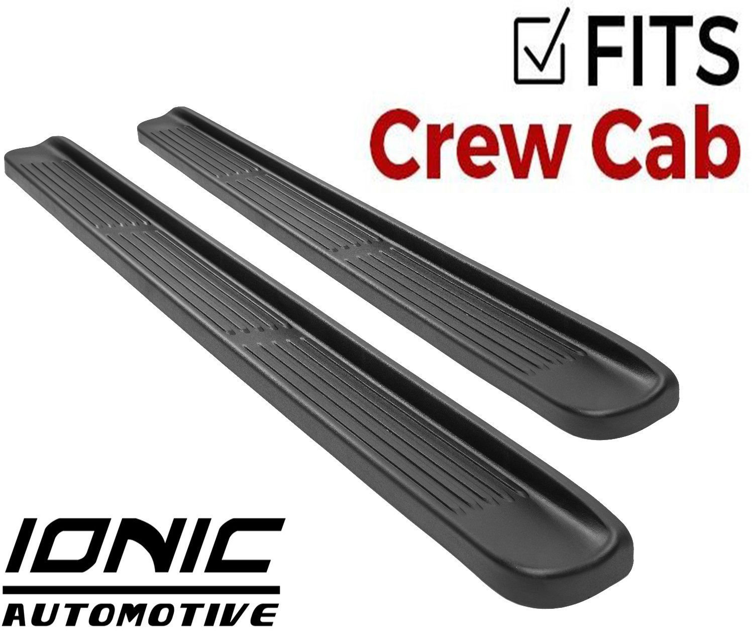 Amazon Com Ionic Factory Style Running Boards 2014 2018 Chevy