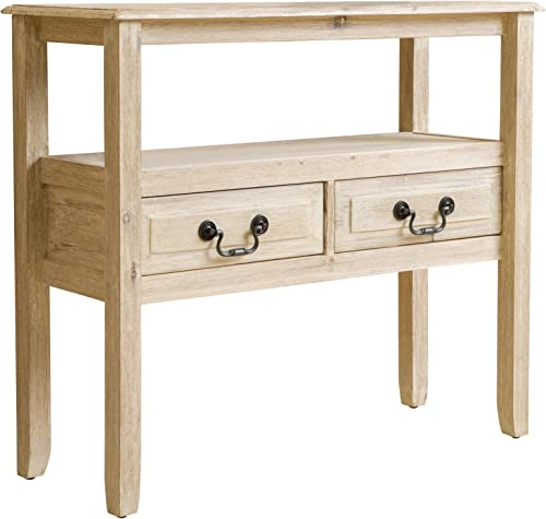 Christopher Knight Home Ramsey Acacia Wood Console Table, Brushed Morning Mist