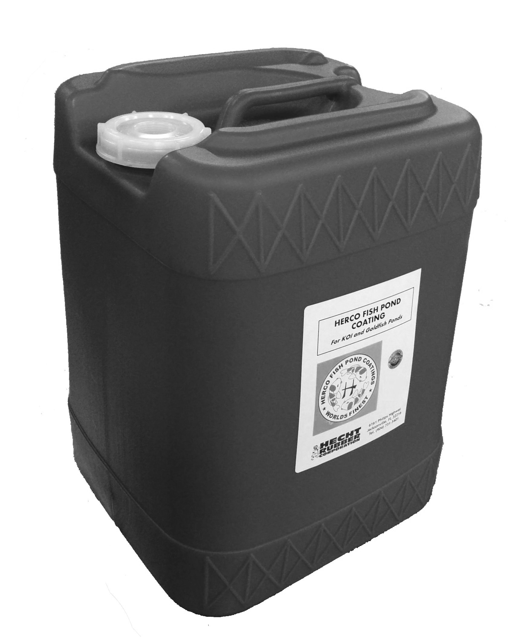 Herco H-55 Pond Coating - Five Gallons - Black