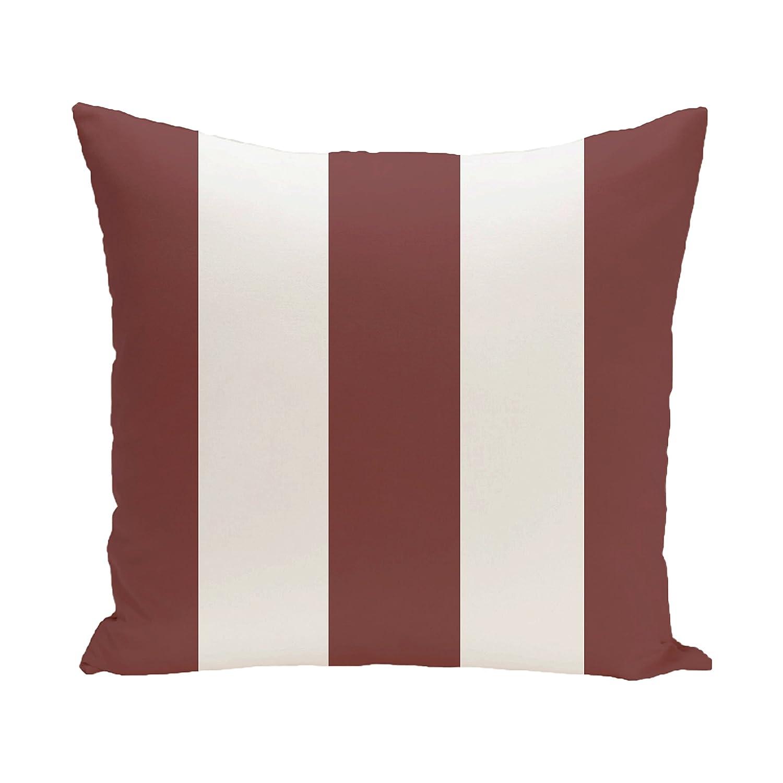 E by design O5PSN132OR6-16 Printed Outdoor Pillow