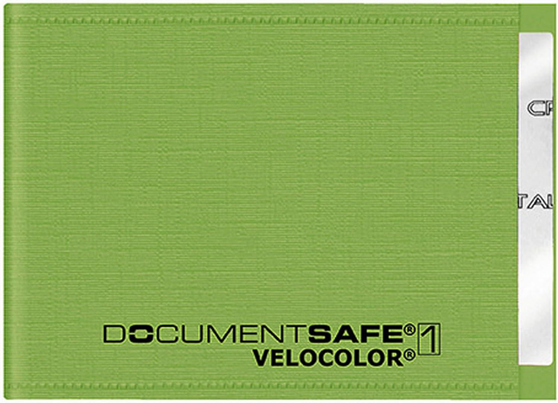 Veloflex 3271341 Document Safe Kartenhülle Kreditkartenhülle Rfid Nfc Schutz Rfid Blocker 90 X 63 Mm Grün Bürobedarf Schreibwaren