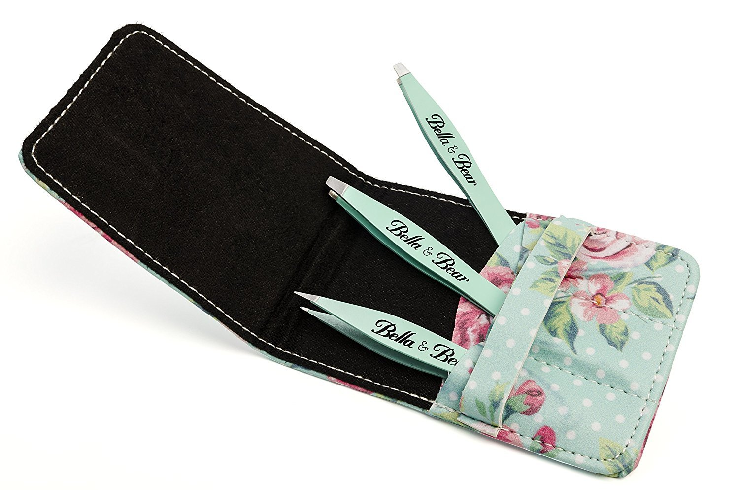 Eyebrow Tweezers by Bella and Bear - The Tweezers Set for Professional Shaping by Bella and Bear (Image #8)