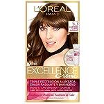 Tinte Excellence L'Oréal Paris 5.3 Castaño Claro Dorado