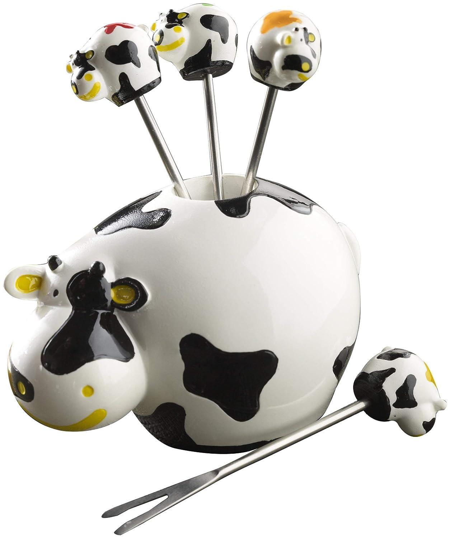 Autre 10 x 10 x 11 cm Blanc Boska 853704 Dutch Vache Set DE Piques