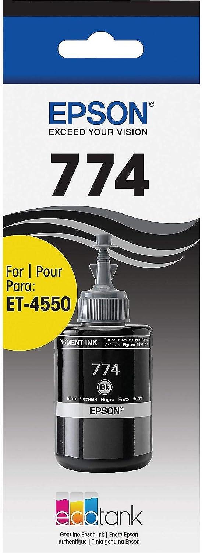 Epson T774120-S EcoTank Pigment Black Ink Bottle