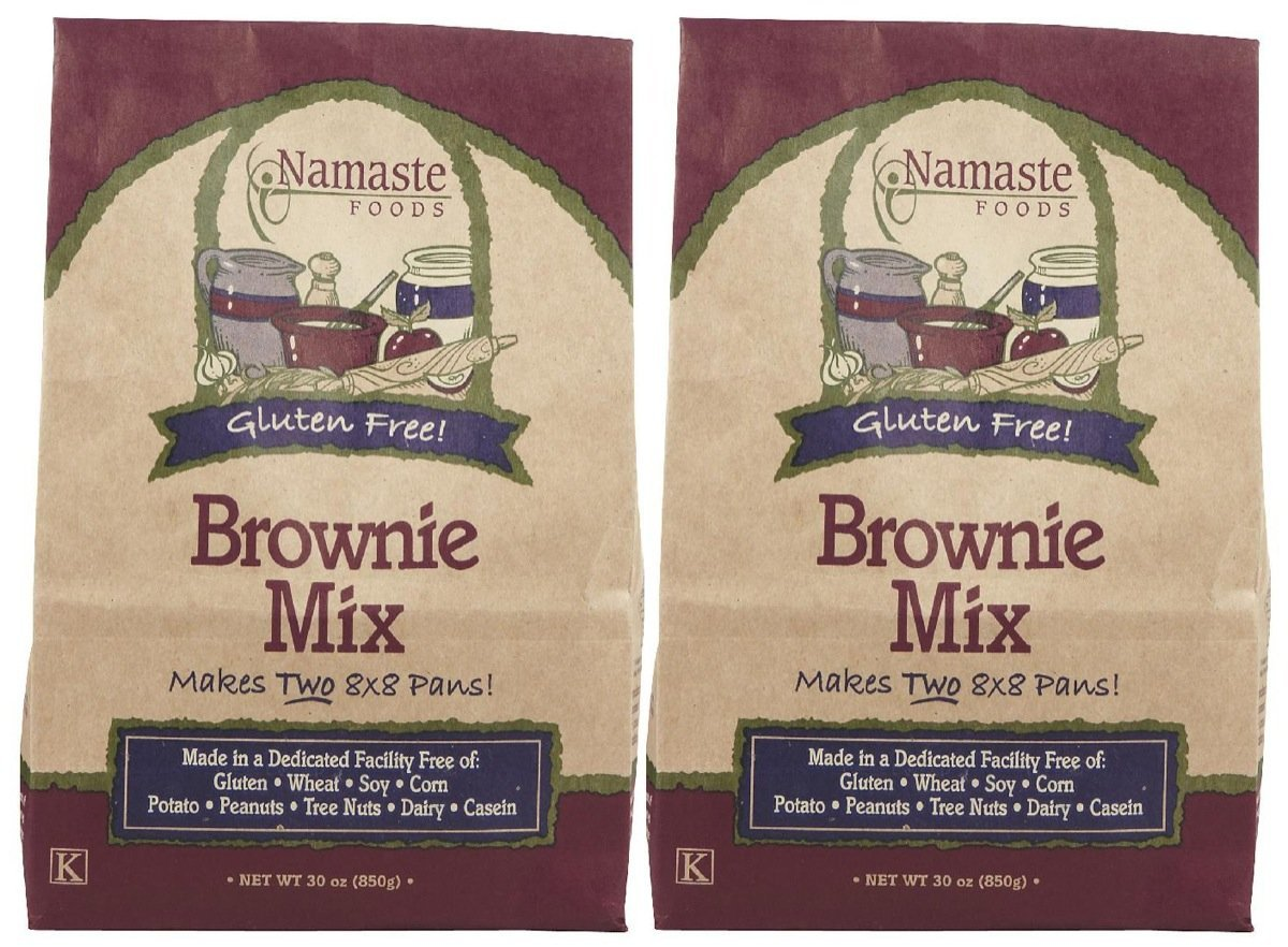 Namaste Foods Brownie Mix, 30 oz, 2 pk by Namaste Foods