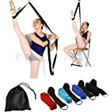 Door Flexibility & Stretching Leg Strap - Great for Ballet Cheer Dance Gymnastics or ANY Sport Leg Stretcher Door Flexibility Trainer Premium stretching equipment