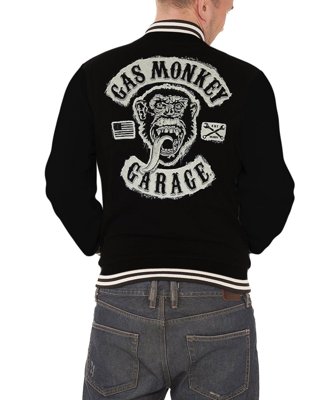 Manga Larga Hombre Chaqueta Gas Monkey Garage