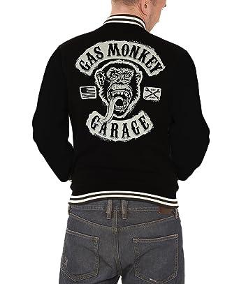 Gas Monkey Garage - Chaqueta - Manga Larga - Hombre: Amazon.es: Ropa y accesorios