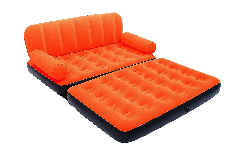 Bestway Comfort Quest 5-en-1 multifunción Doble colchón ...