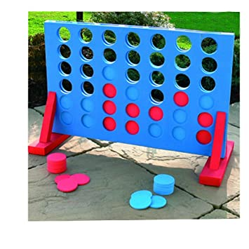 cccea60d 4 IN A ROW GIANT CONNECT GARDEN OUTDOOR GAME KIDS ADULTS FAMILY ...
