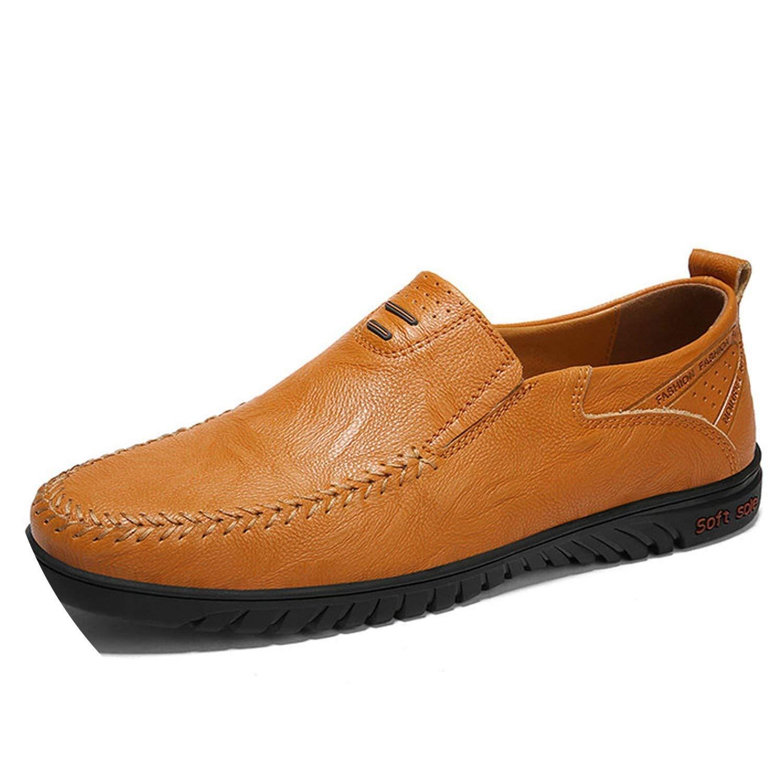 Men Shoes Genuine Leather Comfortable Men Casual Shoes Footwear Chaussures Flats Men Slip On Lazy Shoes Zapatos Hombre