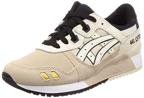plus de photos b3ce4 647ca ASICS Tiger Gel-Lyte III Unisex Baskets Beige: Amazon.fr ...