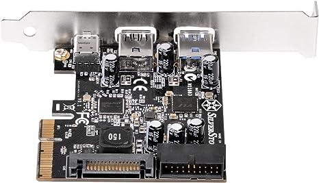 Internal USB3.0/0/ 2/Combo Expansion Card SST/ Silverstone External USB3.0/1/Type-C 1 /ecu05/ USB3.0/0/Type-A 2