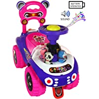 Deal Bindaas Kid's Plastic Dream Rider, 2-5 Years (Pink)