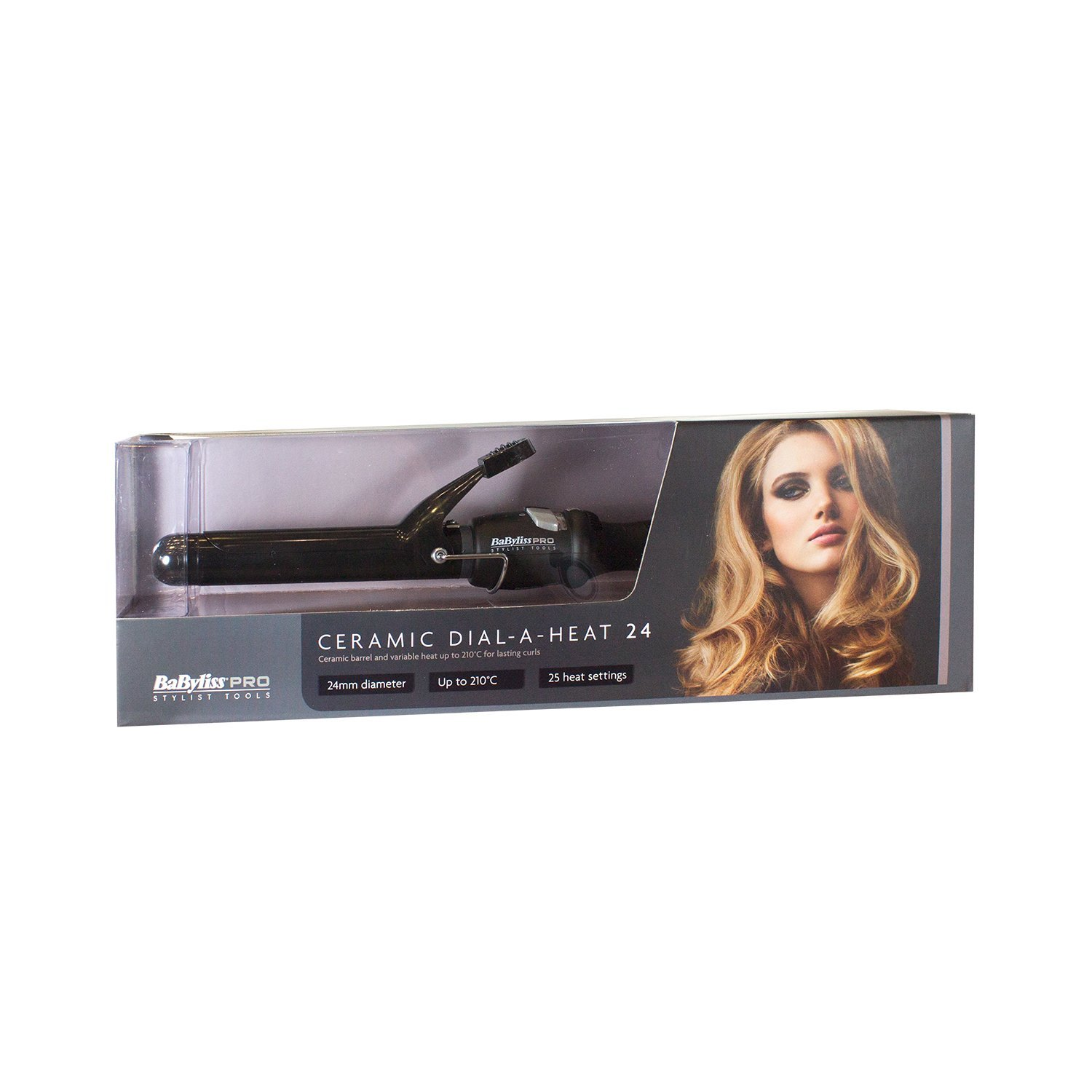Babyliss 24 mm Pro Ceramic Dial A Heat Hair Tongs