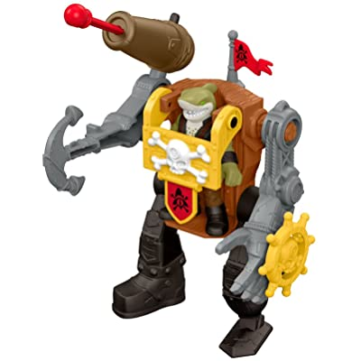 Fisher-Price Imaginext Shark Mech Suit: Toys & Games [5Bkhe0807090]