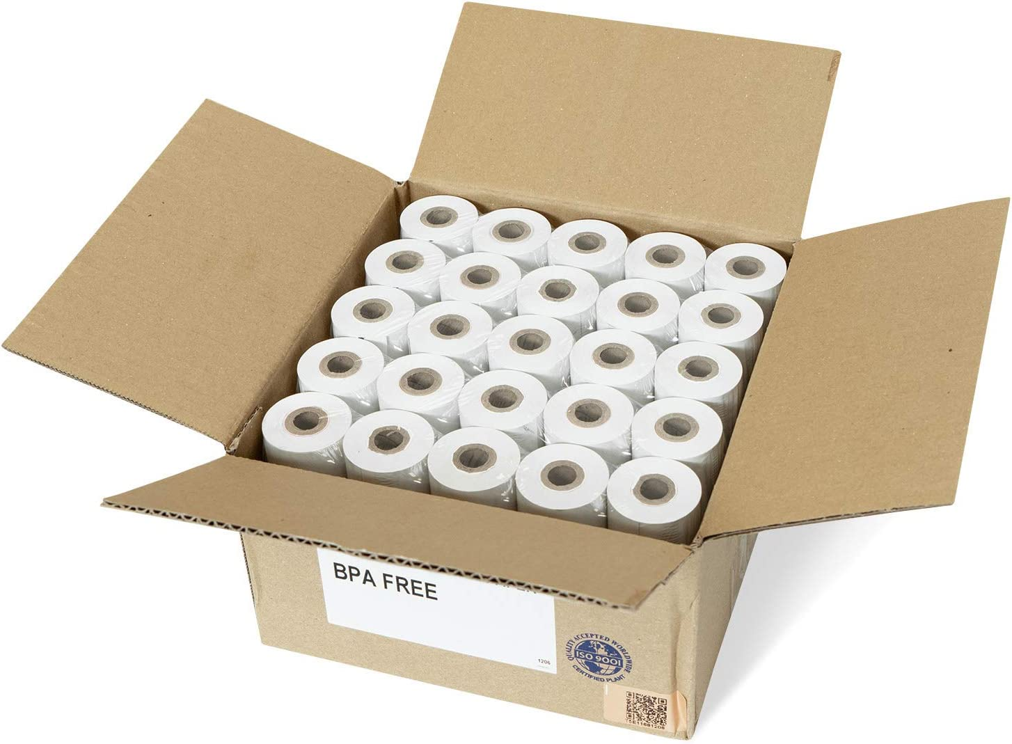 "VERIFONE vx680 THERMAL RECEIPT PAPER 20 ROLLS ~FREE SHIPPING~ 2-1//4/"" x 50/'"