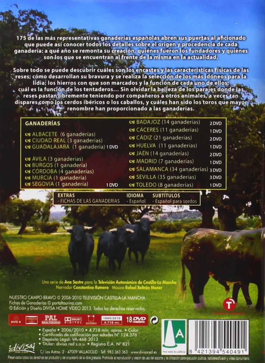 Nuestro campo bravo (Ganaderías españolas) [DVD]: Amazon.es: Cine y Series TV