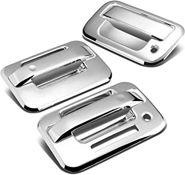 TX Racing Chrome Trim Tailgate and Rear Handle Cover for Ford F150 F-150
