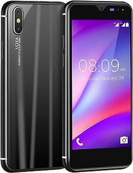 Móviles y Smartphones Libres, Android 3G Smartphone, Doble SIM Doble Cámara (5.0Mp+2.0Mp) Telefonos (Black): Amazon.es: Electrónica