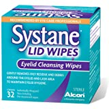Systane Lid Wipes - Eyelid Cleansing Wipes - Sterile, Count of 32