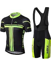 INBIKE Conjunto Ropa Equipacion Traje Ciclismo Hombre para Verano a5aa3d2dd32bf