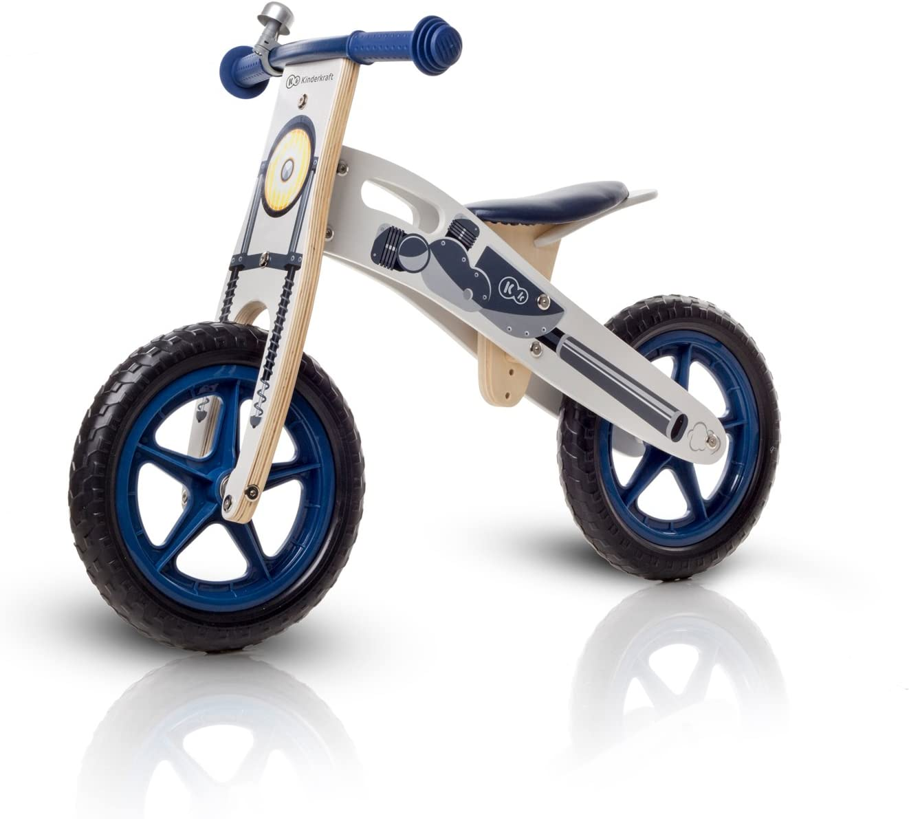 KinderKraft Niños Fuerza Runner Bicicleta de Madera sin Pedales ...