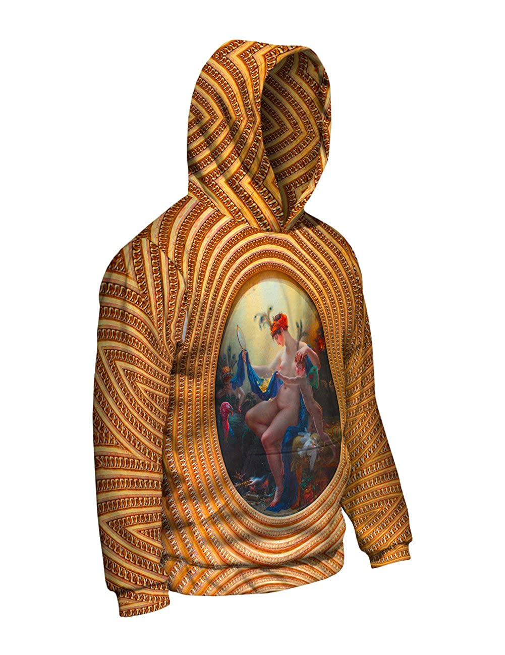Made Mens Hoodie 2818 Yizzam- Anne Louis Girodet Trioson Allover Print