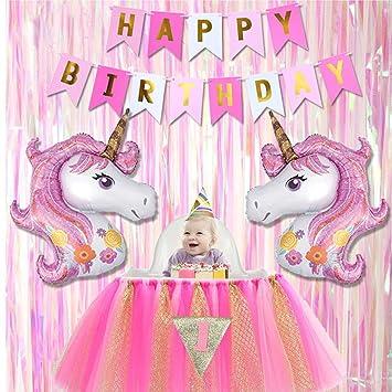 Tumao Einhorn Luftballon Geburtstag Deko Kindergeburtstag Deko