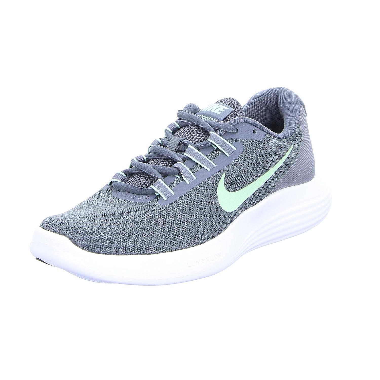 NIKE Womens Lunarconverge Lunarlon Fitness Running Shoes B01M04WMAZ 7.5 B(M) US|Dark Grey/Fresh Mint/Cool Grey/White