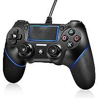 اداة تحكم لجهاز PS4 من اكلو، ذراع لعب بخاصية الاهتزاز المزدوج عند الصدمات لاجهزة Playstation 4 slim /Playstation 4 pro…