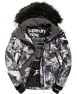 Superdry Snow Puffer Femme Grise Veste Sports Et Loisirs qdf8wq a2013c3a397