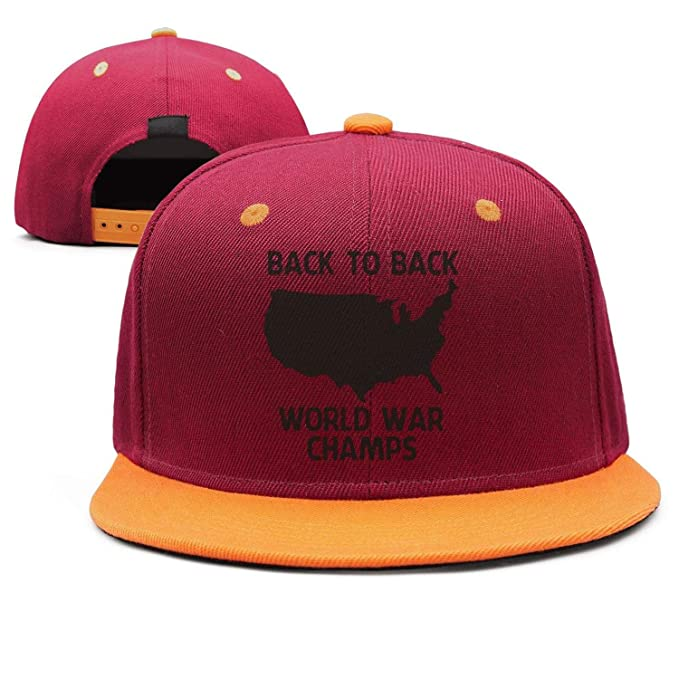 e4d1202380f Amazon.com  Back to Back World War Champs Cool Snapback Hats  Clothing
