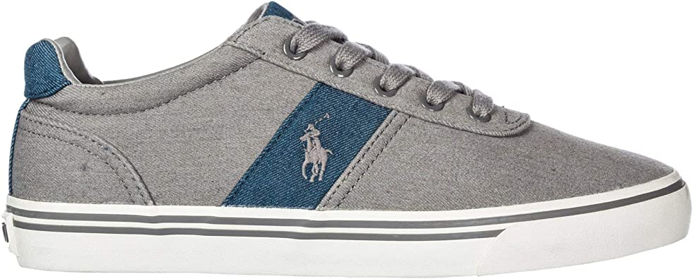 POLO RALPH LAUREN Hanford-Ne-SK Sneakers Hombre Grey 40 ...