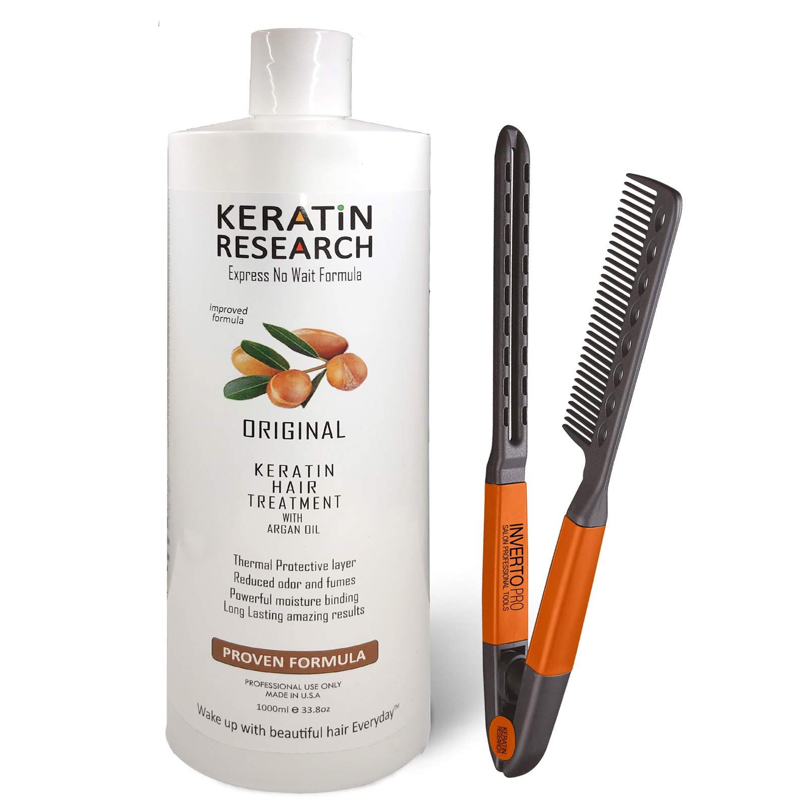 Brazilian Keratin Hair Treatment Professional X Large 1000ml Bottle Proven Amazing Results