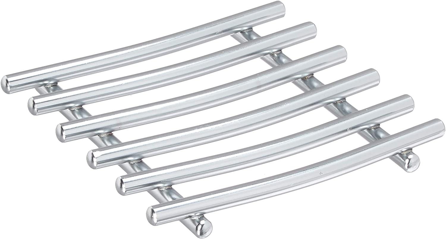 Home Basics Kitchen & Storage Accessories Satin Chrome Collection (Trivet)