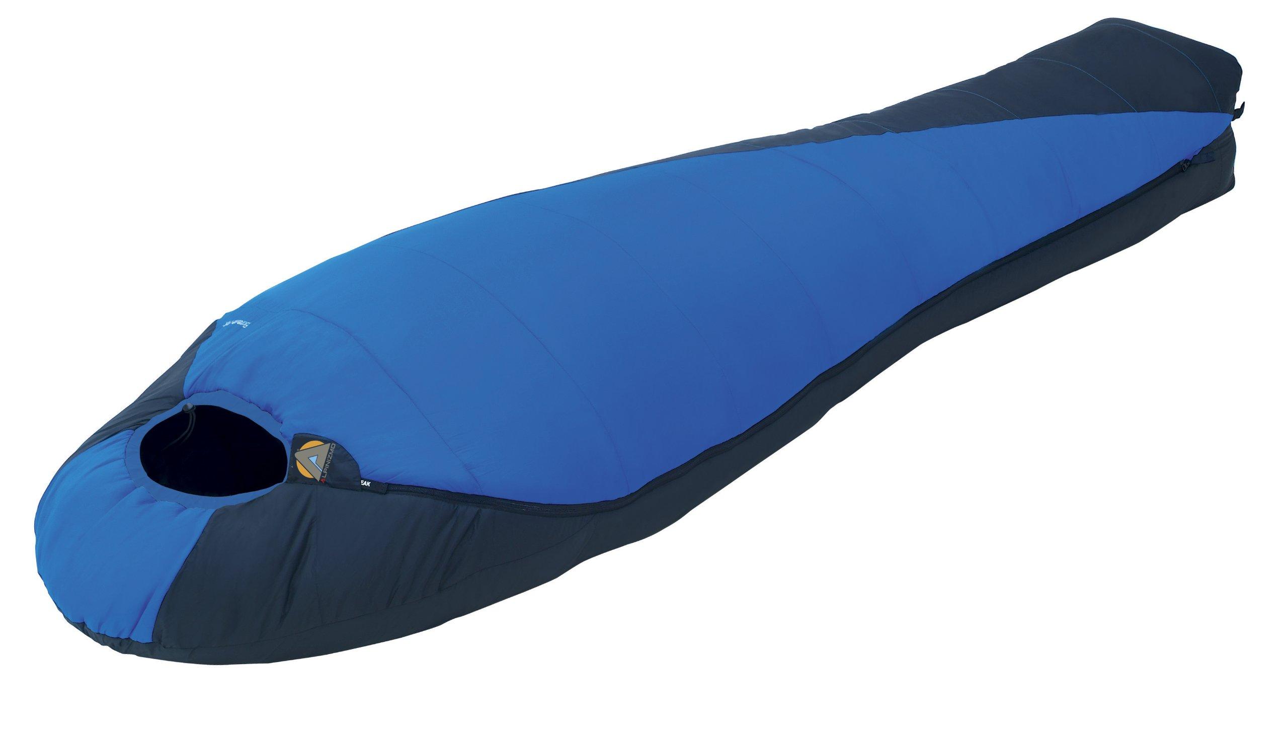 High Peak USA Alpinizmo Extreme Sleeping Bag, Blue, Regular by Alpinizmo
