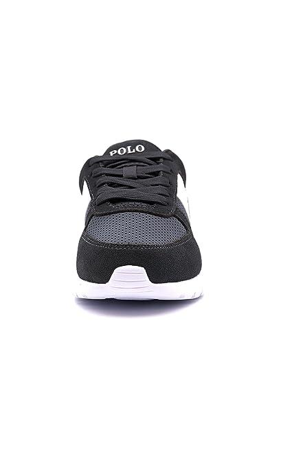 Ralph Lauren CORDELL-SK-ATH Sneakers Hombre D CAR/CAR 40: Amazon ...