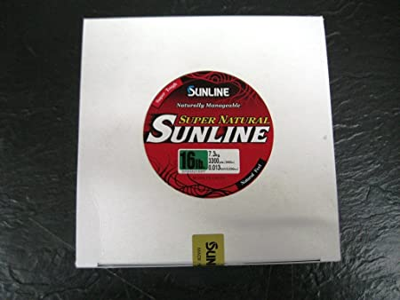 Sunline 63758972 Super Natural Jungle Green 16 lb Fishing Line, Jungle Green, 3300 yd