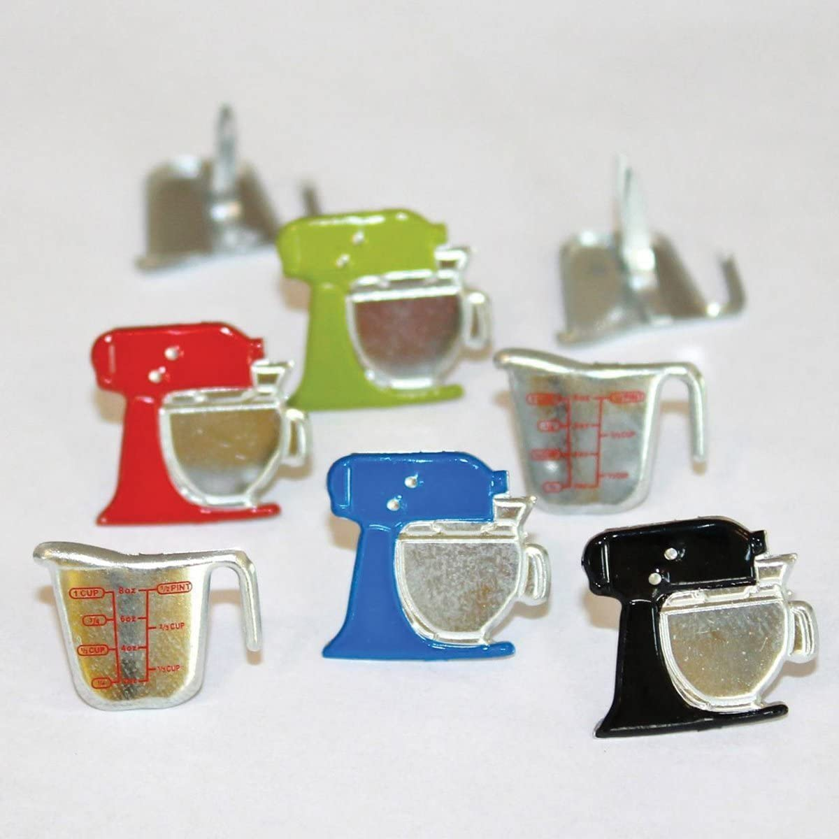 Eyelet Outlet Mixer and Cup Brads