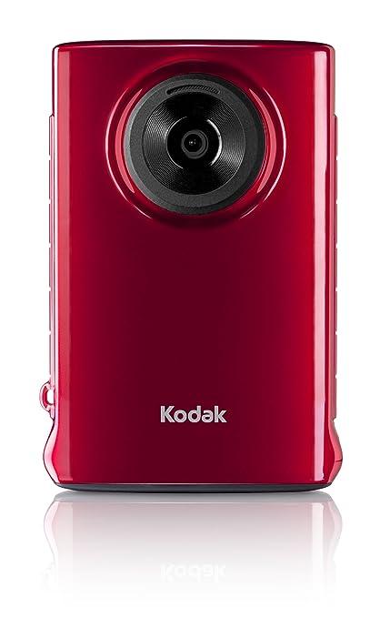 amazon com kodak mini video camera with sd card red flash rh amazon com Kodak Mini HD Drivers Kodak Mini Video Camera SD Card