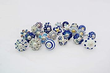 White Color Ceramic Door Knobs Handpainted Ceramic Knobs Kitchen Cabinet Knobs Drawer Knobs Ceramic Pumpkin Knobs