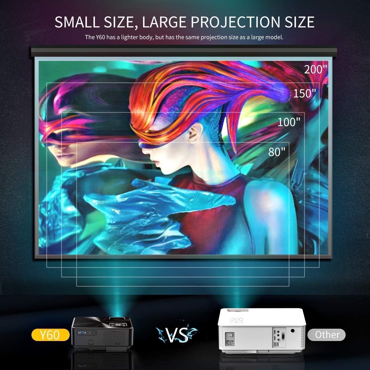 YABER 720P Video Projecteur Cinema