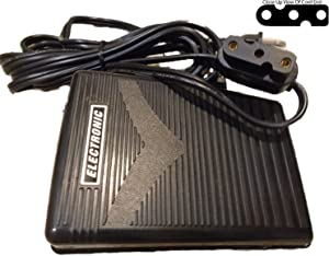 NGOSEW Electronic Foot Control Pedal 3-Prong Style Pffaff 30, 130, 230, 290, 332, 338 Old Style