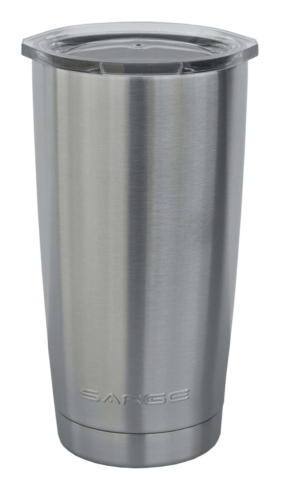 Sarge Knives DC-20 20 oz Stainless steel Tumbler with Shatterproof Lid and Desert Cup