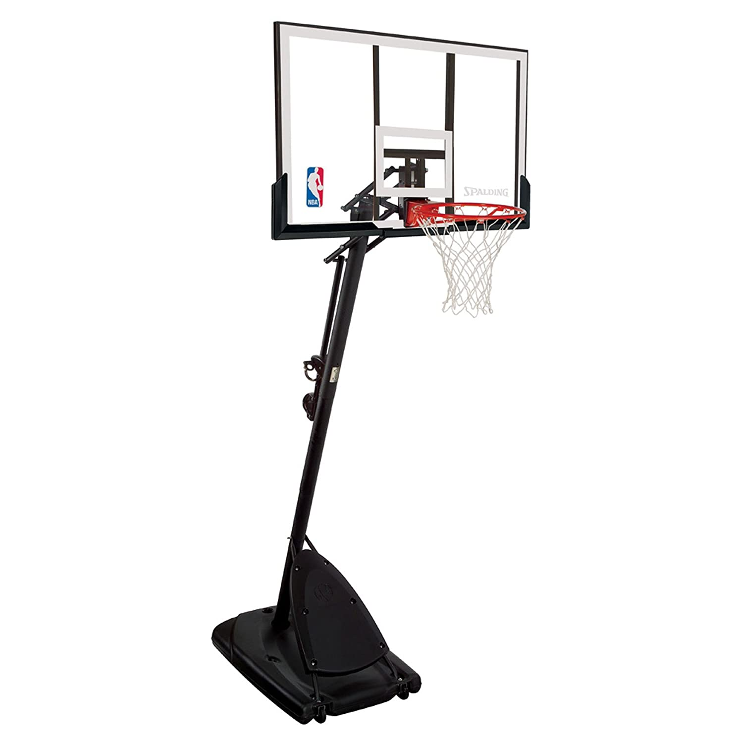 Spalding 66291 Pro Slam Portable Basketball System  with 54-Inch Acrylic Backboard
